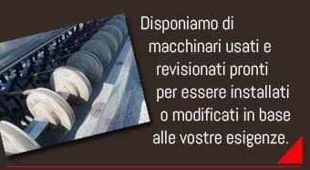 Ferrari Fabrizio - Macchinari usati e revisionati per impianti di macellazione avicola. Modifica impianti macellazione avicola. Macchinari macellazione avicola polli e tacchini.